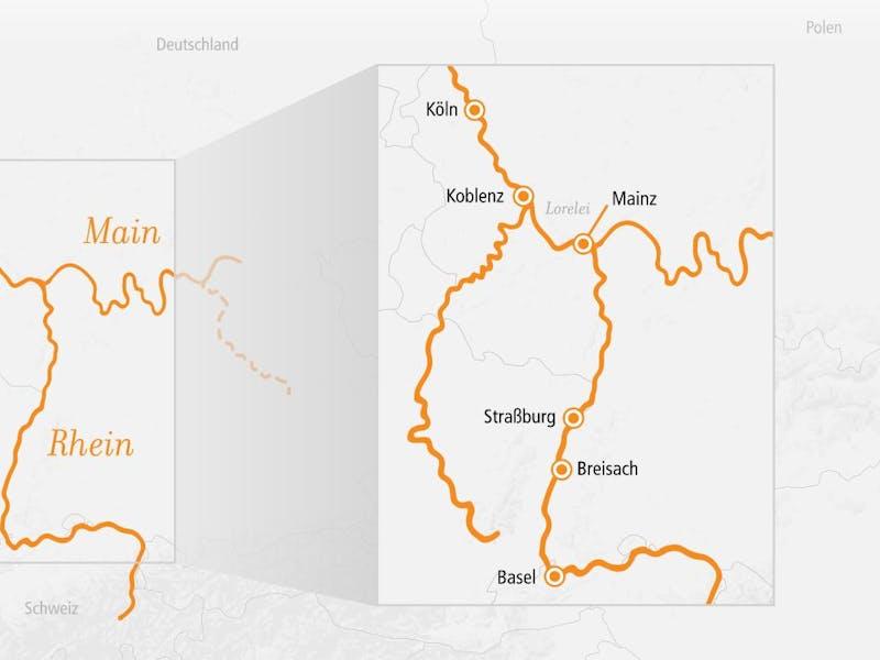 Rhein Erlebnis Kurs Basel