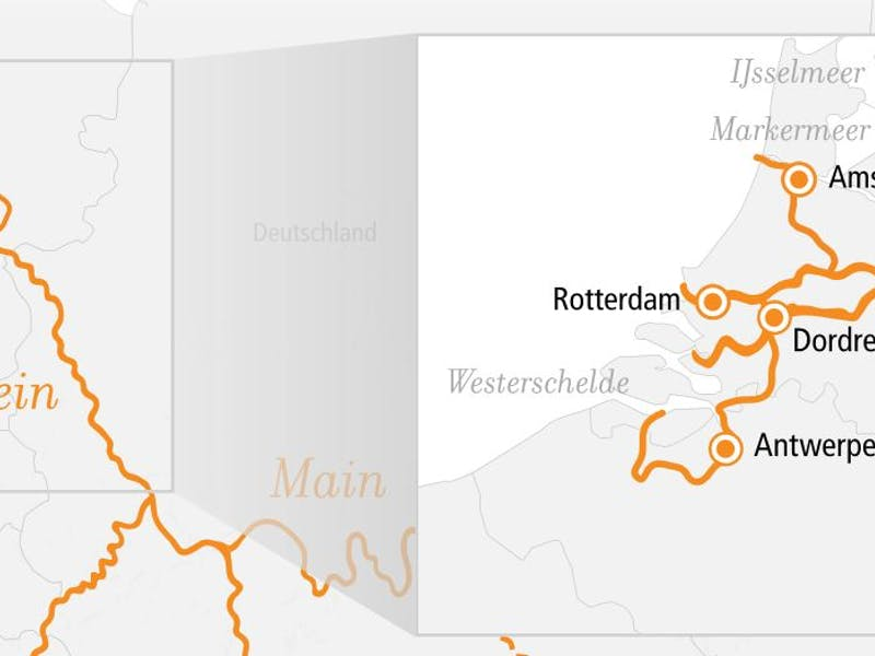 Rhein Erlebnis Amsterdam und Rotterdam 2022